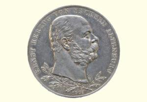 Münze Ernst Herzog