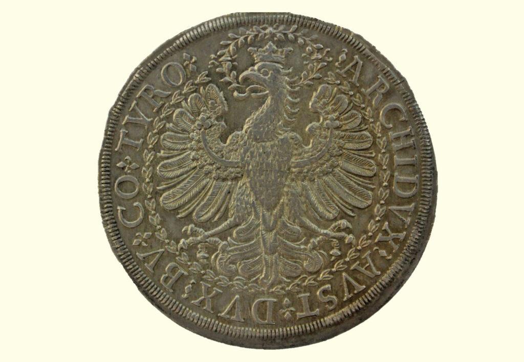 Doppeltaler Römisch Deutsches Reich - Habsburger Adler (Rückseite)